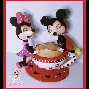 Mickey & Minnie fofucha